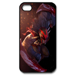 Dota 2 Hero Bloodseeker Custom iPhone 4,4S Case Custom Case for iPhone 4,4S  