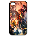 Dota Defence of the Ancients Custom iPhone 4S Case Custom Case for iPhone 4,4S