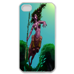 Dota 2 Hero with Spear Custom iPhone 4,4S Case Custom Case for iPhone 4,4S