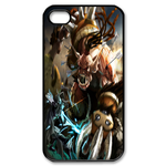 Dota Fan Art Custom iPhone 4,4S Case Custom Case for iPhone 4,4S