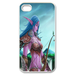 Dota Mirana aka Tyrande Custom iPhone 4,4S Case Custom Case for iPhone 4,4S