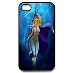 Dota 2 Hero Rylai Custom iPhone 4,4S Case Custom Case for iPhone 4,4S