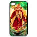 Dota Warcraft in Red Robe Custom iPhone 4,4S Case Custom Case for iPhone 4,4S