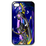 Dota Warcraft on Blue Custom iPhone 4,4S Case Custom Case for iPhone 4,4S