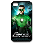 iphone 4s case handsome green lantern Custom Case for iPhone 4,4S