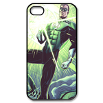 iphone 4s case heroic green lantern Custom Case for iPhone 4,4S