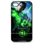 iphone 4s case wise&strong green lantern Custom Case for iPhone 4,4S