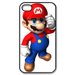 iphone 4s cases handsome mario Custom Case for iPhone 4,4S