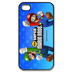iphone 4s cases happy mario Custom Case for iPhone 4,4S  