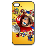 iphone 4s cases happy super mario Custom Case for iPhone 4,4S