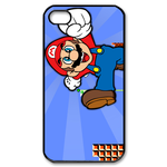iphone 4s cases running mario Custom Case for iPhone 4,4S