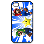 iphone 4s cases super mario Custom Case for iPhone 4,4S  