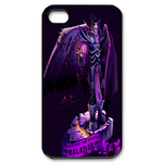 Dota 2 Illuminated Purple Custom iPhone 4,4S Case Custom Case for iPhone 4,4S