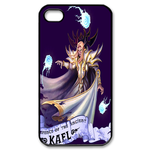 Black Dota 2 Series Print Custom iPhone 4,4S Case Custom Case for iPhone 4,4S