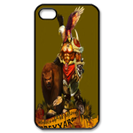 Dota 2 on Olive Green Custom iPhone 4,4S Case Custom Case for iPhone 4,4S