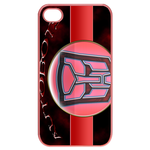 Pink Transformers Logo Custom iPhone 4,4S Case Cases for  Iphone 4,4s(Pink)