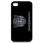 Transformers-Grey Autobots Logo iPhone 4S Case Custom Case for iPhone 4,4S