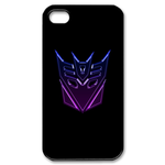 Transformers-Purple Decepticons Logo iPhone Case Custom Case for iPhone 4,4S
