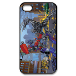 Transformers Fighting Custom iPhone 4,4S Case Custom Case for iPhone 4,4S
