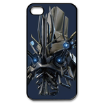 Transformers Head on Blue Custom iPhone 4,4S Case Custom Case for iPhone 4,4S