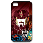 Transformers Maroon Head Custom iPhone 4,4S Case Custom Case for iPhone 4,4S