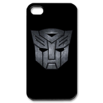 Transformers Grey Portrait Logo iPhone 4 Case Custom Case for iPhone 4,4S