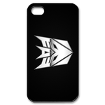 Transformers Metal Crowned Logo iPhone 4S Case Custom Case for iPhone 4,4S