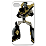 Tranformers Prow on White Custom iPhone 4,4S Case Custom Case for iPhone 4,4S