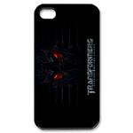 Transformers Red Eyes Watching iPhone 4 Case Custom Case for iPhone 4,4S