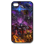 Transformers War Custom iPhone 4,4S Case Custom Case for iPhone 4,4S