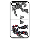 iPhone 4S case two Transformers Custom Case for iPhone 4,4S