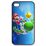 iphone 4s cases mario with his friends Custom Case for iPhone 4,4S