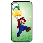 iphone 4s cases mario with mushroom Custom Case for iPhone 4,4S  