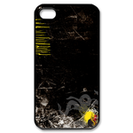 Ed Hardy Black Wallpaper Custom iPhone 4,4S Case Custom Case for iPhone 4,4S  
