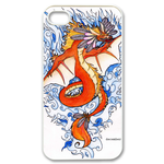 Ed Hardy  Dragon Tattoo Custom iPhone 4,4S Case Custom Case for iPhone 4,4S  