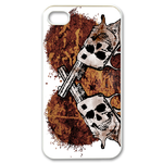 Ed Hardy – Skeleton Guns Custom iPhone 4,4S Case Custom Case for iPhone 4,4S