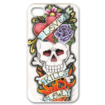 Ed Hardy Love Kills Slowly Custom iPhone 4,4S Case Custom Case for iPhone 4,4S