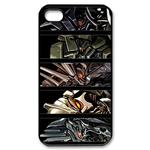 Five Transformers Custom iPhone 4,4S Case Custom Case for iPhone 4,4S