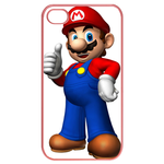 iphone 4s cases cool super mario Cases for  Iphone 4,4s(Pink)