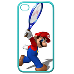 iphone 4s cases good player Custom Cases for Iphone 4,4s (Blue)