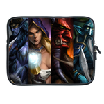 ipad 2 sleeve unique dota 2 heros series Two Sides Sleeve for Ipad 2