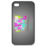 Ed Hardy Pastels Custom iPhone 4,4S Case Custom Case for iPhone 4,4S  