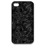Ed Hardy-Love Kills Slowly Custom iPhone 4S Case Custom Case for iPhone 4,4S  