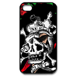 Ed Hardy – Killed Skull – Custom iPhone 4,4S Case Custom Case for iPhone 4,4S
