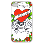 Ed Hardy-Red Love Kills Slowly iPhone 4 Case Custom Case for iPhone 4,4S