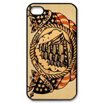 Ed Hardy Sailing Ship Custom iPhone 4,4S Case Custom Case for iPhone 4,4S