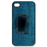 iphone 4s case blue jean print Custom Case for iPhone 4,4S