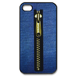 iphone 4s case blue jeans design Custom Case for iPhone 4,4S