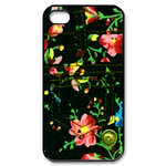 iphone 4s case flower jeans design Custom Case for iPhone 4,4S