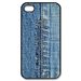 iphone 4s case  jean style design Custom Case for iPhone 4,4S
